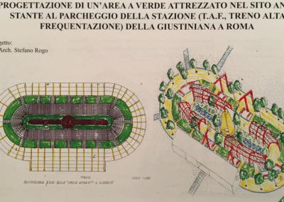 Giardino pubblico la Giustiniana - progetto premio prestigio Vivai Tor San Lorenzo - premio prestigio