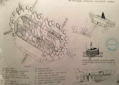 Giardino pubblico la Giustiniana - progetto premio prestigio Vivai Tor San Lorenzo - progetto